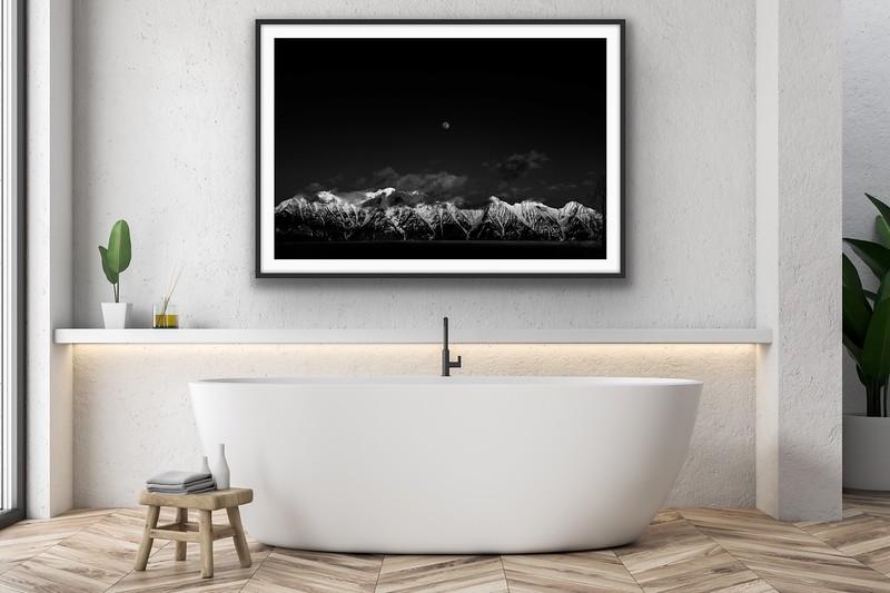 'Moon Rise Sun Set' Fine Art Print