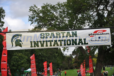 Finish - Women's College 6K - 2014 MSU Spartan Invite