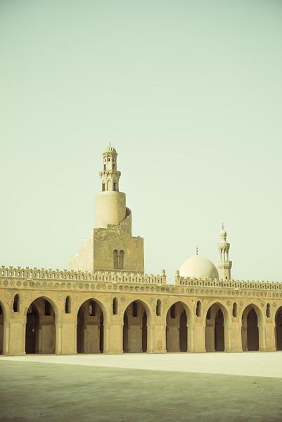 Mezquita Ibn Tulun. Cairo Egipto