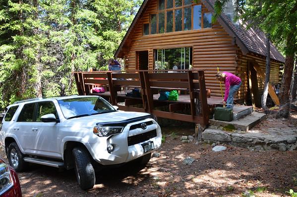 Visit Craigs Cabin at Grays Trailhead 7/17/2015