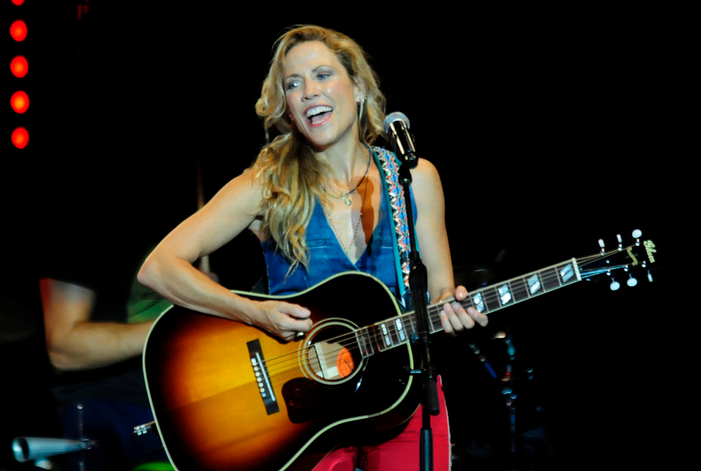 . With a career that has spanned more than a decade, Sheryl Crow, 51, has survived breast cancer,  has sold over 17 million albums and won 9 grammys.  (Pioneer Press: Scott Takushi)
