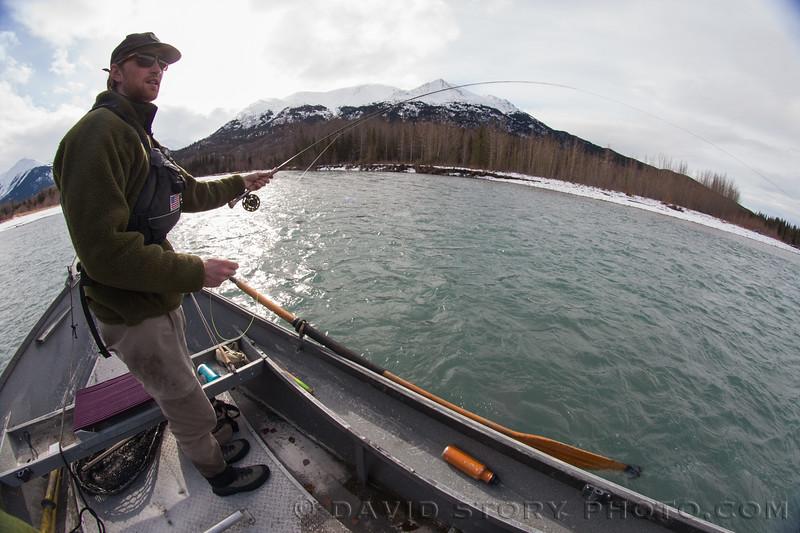 Spring fishing.