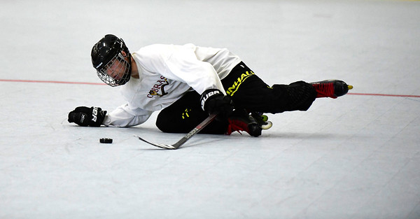7/13/2019 Mike Orazzi | Staff Pisa Roller Hockey's Devin Norton (66) during the Nutmeg State Games in the Koeppel Community Sports Center on Saturday.