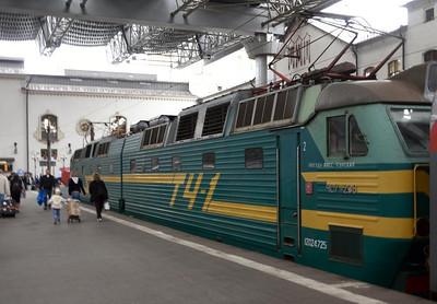 Russian Railways Train 21, 2015