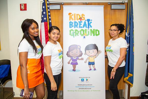 Kids Break Ground Launch Event