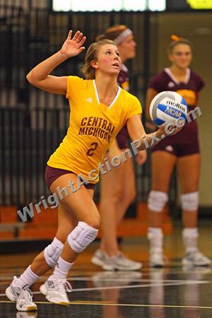 2011 09 02 CMU Womens Volleyball vs Oakland University