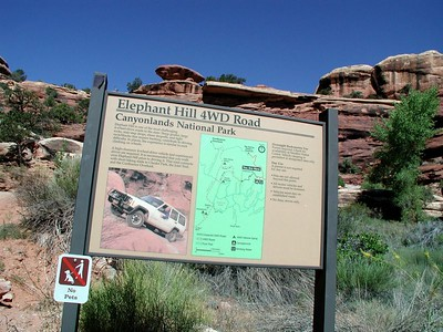 Canyonlands Needles, Elephant Hill