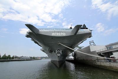 USS Intrepid and USS Growler