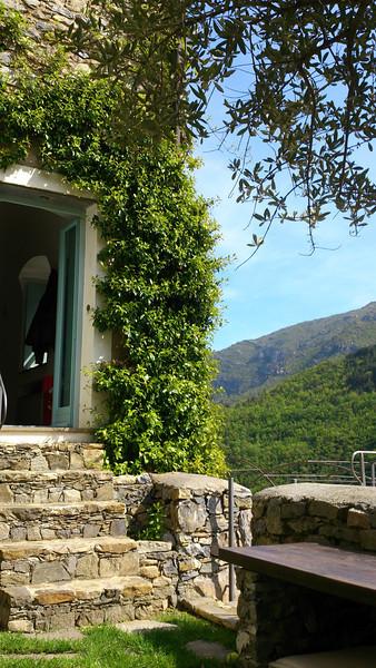 Front door at Colletta