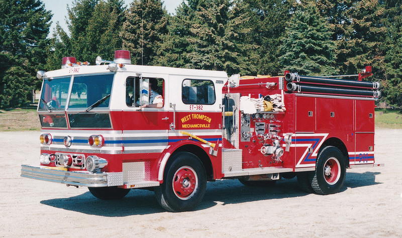 Retired Engine/Tanker 382.  Ward LaFrance