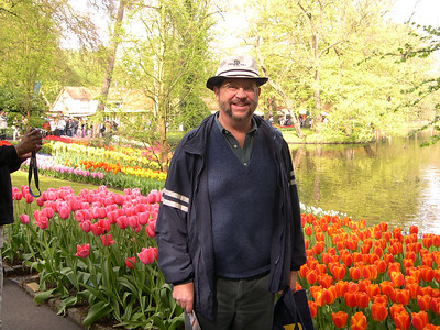 Keukenhof and Kinderdijk, Netherlands, April 25, 2004