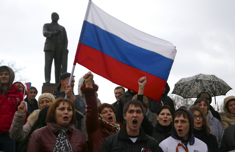 """. <p>5. CRIMEA  <p>�Gone� ... along with the delusions that we could currently stop Putin from taking ANYTHING. (3) <p><b><a href=\'http://www.politico.com/blogs/politico-live/2014/03/gates-crimea-is-gone-184784.html\' target=\""""_blank\""""> HUH?</a></b> <p>    (AP Photo/Sergei Grits)"""