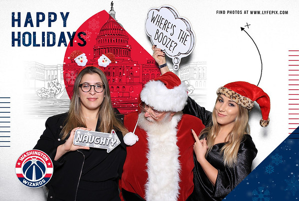 Washington Wizards 2019 Holiday Happy Hour