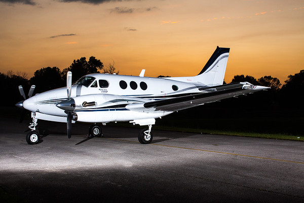 King Air C90 N333XP (High Res)