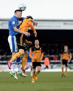 Peterborough United 1 - 1 Hull City 19.01.13   NO FOOTBALL IMAGES FOR SALE OR REPRODUCTION
