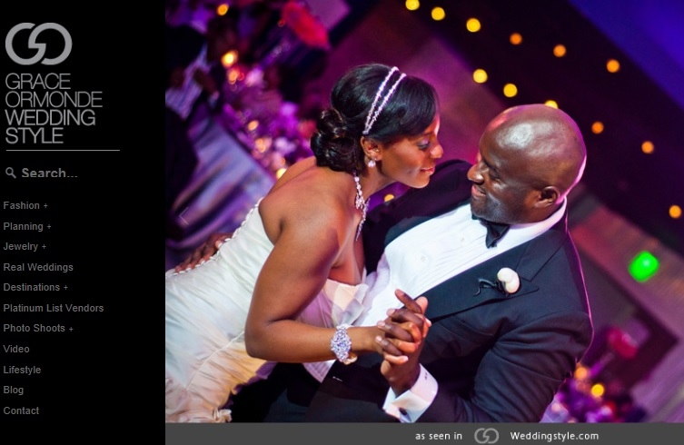 Nya and Abdul Wedding Featured on Grace Ormonde Wedding Style