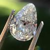 2.61ct Antique Pear Cut Diamond GIA I SI1 20