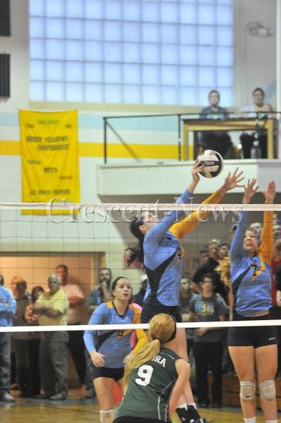 10-09-14 Sports Tinora @ Ayersville V-Ball