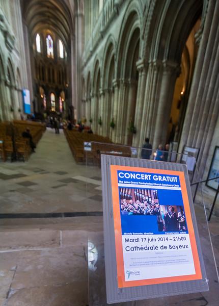 Second Concert:  Bayeaux
