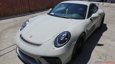 2018 Porsche GT3 - Chalk White