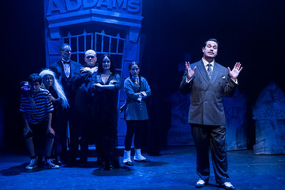 The Addams Family - Mercury Theater 2015