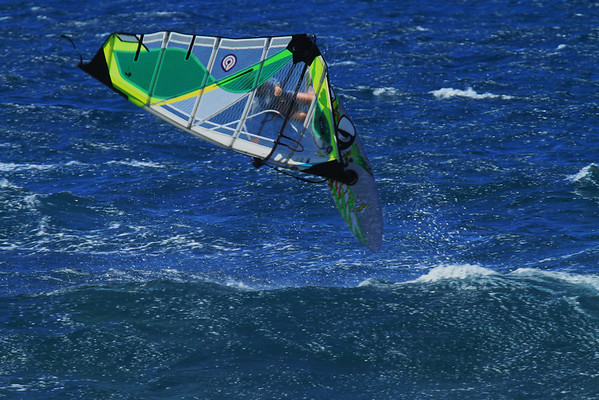 Windsurfing Ho'okipa July - Aug-2011