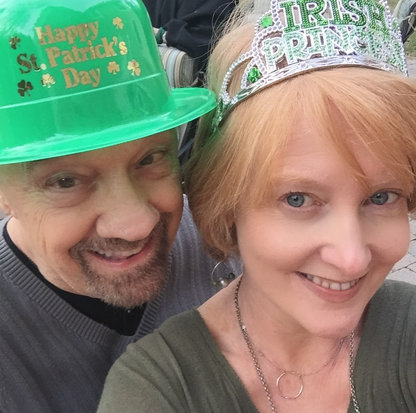 St Patrick's Day couple