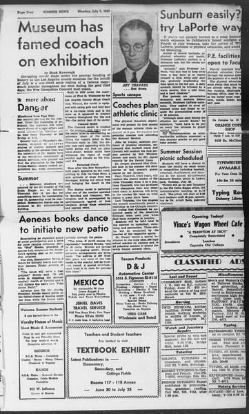 Summer News, Vol. 2, No. 6, July 07, 1947