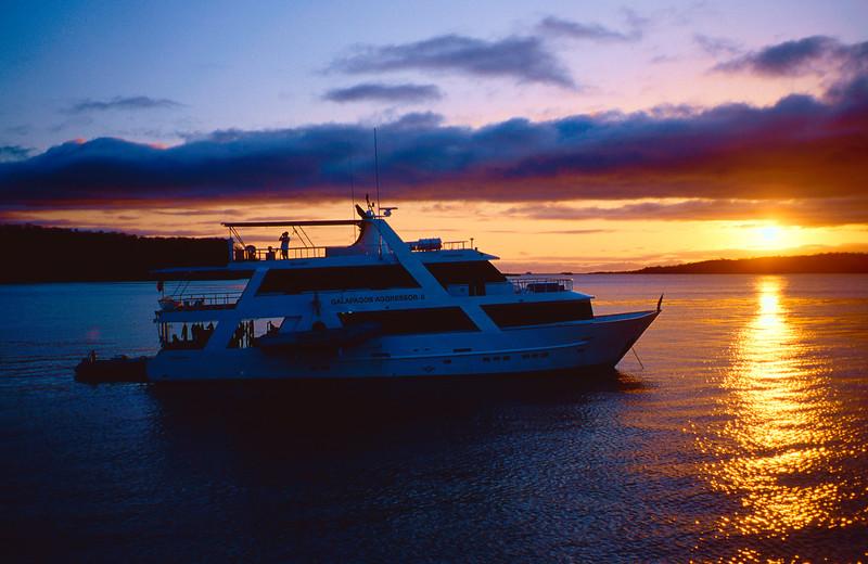 Galapagos Agressor Sunset