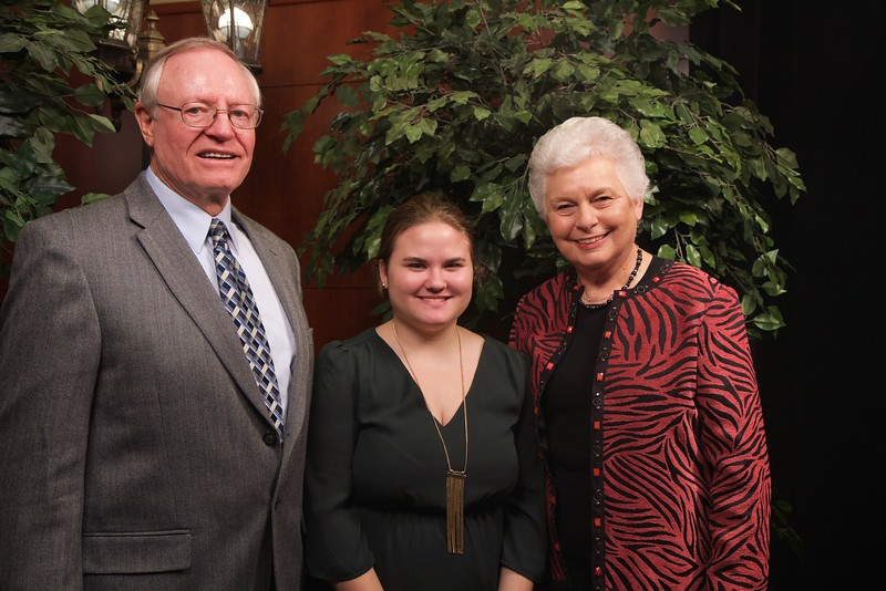 Scholarship Luncheon; Fall 2015. Gil and Martha Blackburn