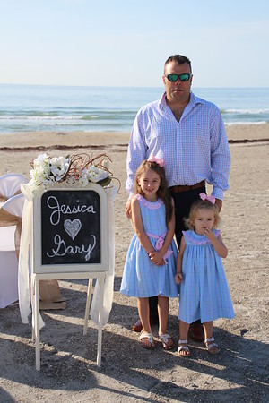 Jessica and Gary's Cape Canaveral Wedding!
