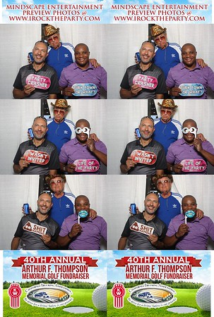 Arthur F Thompson Memorial Golf Tournament - Photo Booth Pictures