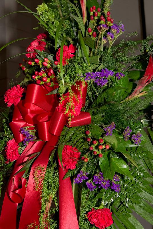 Arthur Saknit - Flowers for service