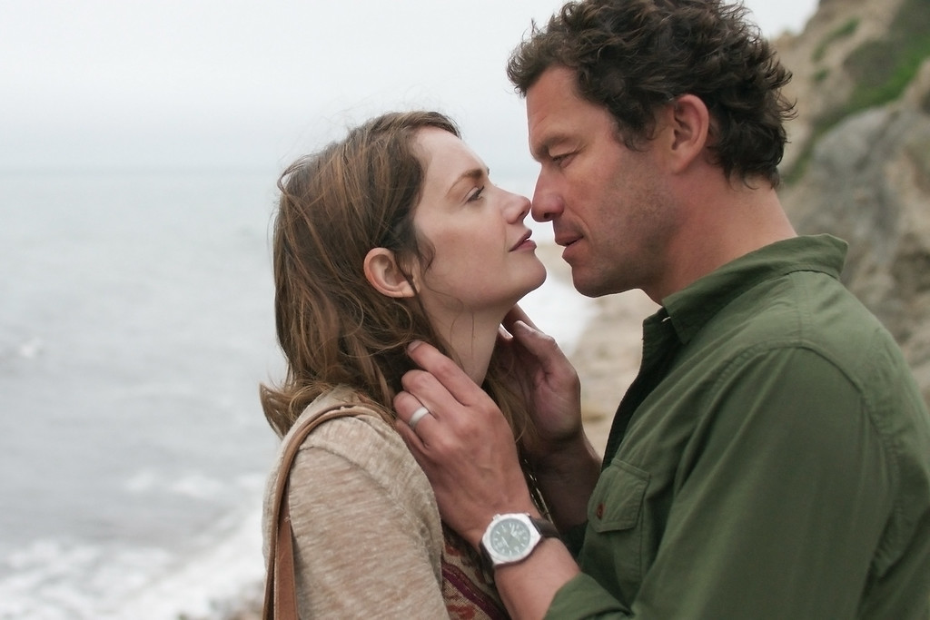 """. In this image released by Showtime, Ruth Wilson, left, and Dominic West appear in a scene from \""""The Affair.\"""" The show was nominated for a Golden Globe for best drama series on Thursday, Dec. 11, 2014. The 72nd annual Golden Globe awards will air on NBC on Sunday, Jan. 11. (AP Photo/Showtime)"""