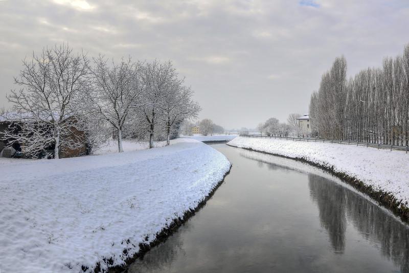 Naviglio Canal - Albareto, Modena, Italy - January 27, 2010