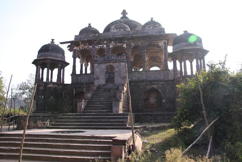 inside Ranthambore Fort