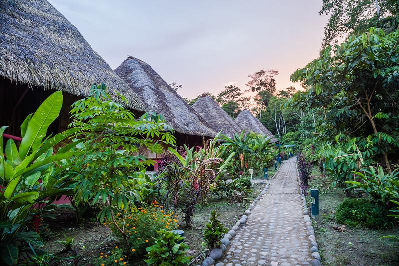 Napo Cultural Center - Ecuador Amazon - Lina Stock