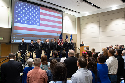 051019 Islander ROTC Spring 2019 Commissioning Ceremony