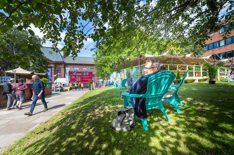 2021 Edinburgh International Book Festival opens in its new home at Edinburgh College of Art