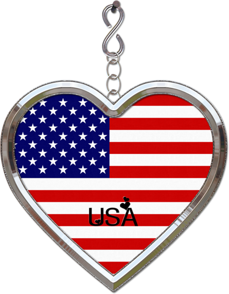 Love USA and Canada-(LLLCrtn) - Embellishments