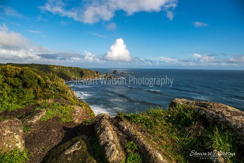 Cape Foulwind coastal lighthouse walk 04