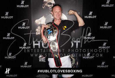 Hublot Studio Booth Sunday May 3rd