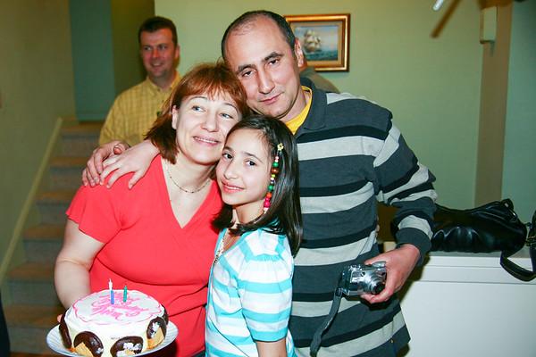 Nina's Birthday celebration - March, 2009