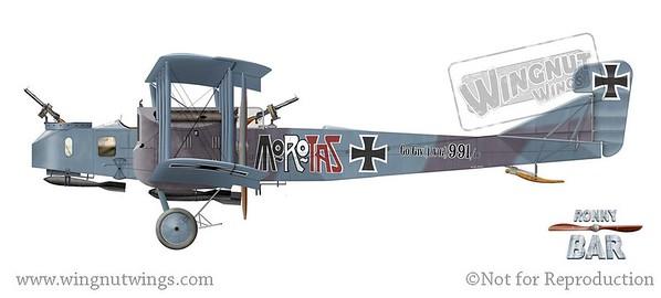 1/32 Gotha G.lV circa 1917