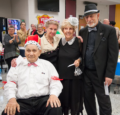 04/19/18 Wesley Bunnell | Staff TRIAD's 20th annual senior prom was held at New Britain High School Thursday night featuring a carnival theme. Named co-king and queen's of the prom are George Goldfuss, Mary Lou Cunningham, Joyce Kang and Rich Sanford.