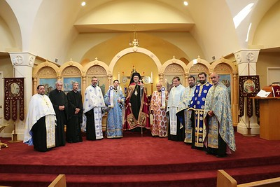 Dormition of the Theotokos Vespers 2014