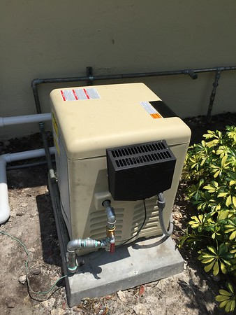 natural gas pool heater and tankless. Boca Raton, FL