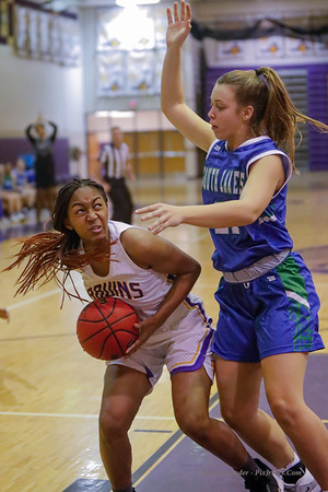 Varsity Girls Basketball v South Lakes 12/20/19