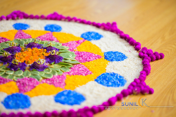 Onam with AT and SS