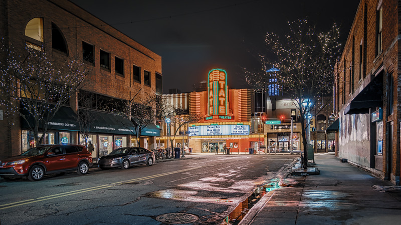 State Theater, Downtown Ann Arbor Michigan